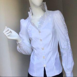 NWOT Regal White Top (Size 10)